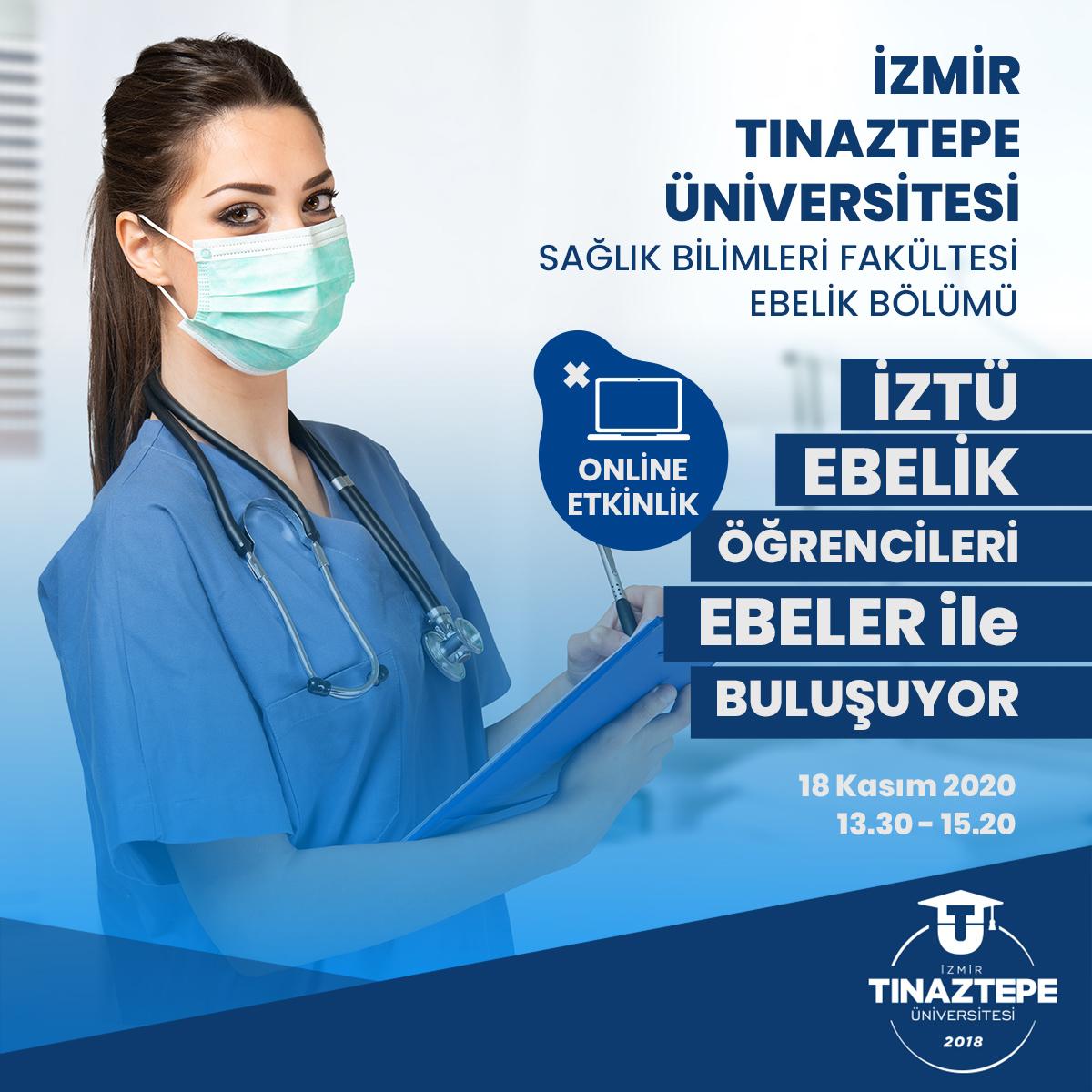 >İZTÜ Sağlık Bilimleri Fakültesi Ebelik Bölümü Online Etkinlik