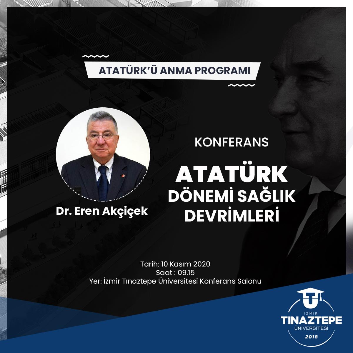 >10 Kasım Atatürk'ü Anma Töreni